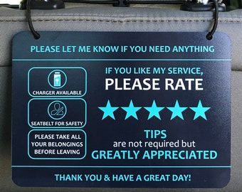 Rideshare Tip Box Etsy