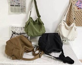 Large Capacity Messenger Bag for Everyday Use, Unisex Bag