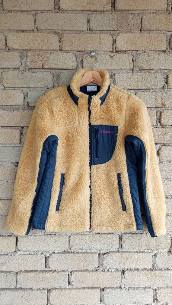 Vintage Columbia Fleece Sweater Jacket