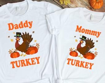 Thanksgiving Turkey Matching Shirts, Thanksgiving 2021 Matching Shirts, Personalized Thanksgiving Family T-Shirt, Family Shirt, Thanksgiving