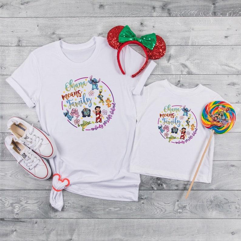 Lilo and Stitch Shirt  Disney Trip Shirt Matching Disney image 1