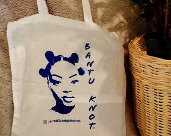 motif afro Tote bag femme africaine cabas courses z\u00e9ro d\u00e9chet