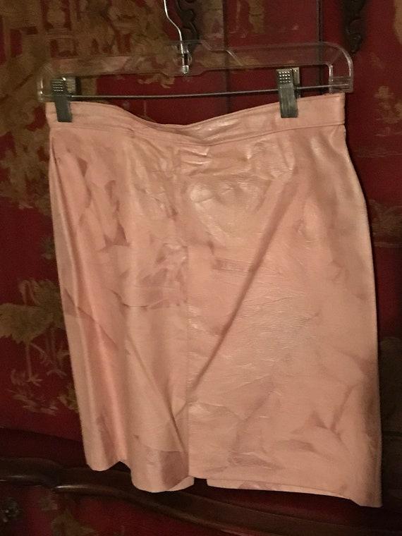 Pink leather set - image 2