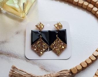 Geometric Shaped Earrings   Boho Earrings   Boho Style   Geo Earrings   Bohemian Earrings   Boho Vibes   Bohemian Style Earrings