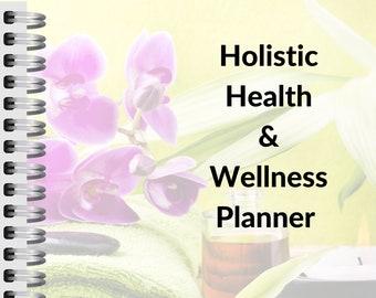 Digital Holistic Health and Wellness Planner