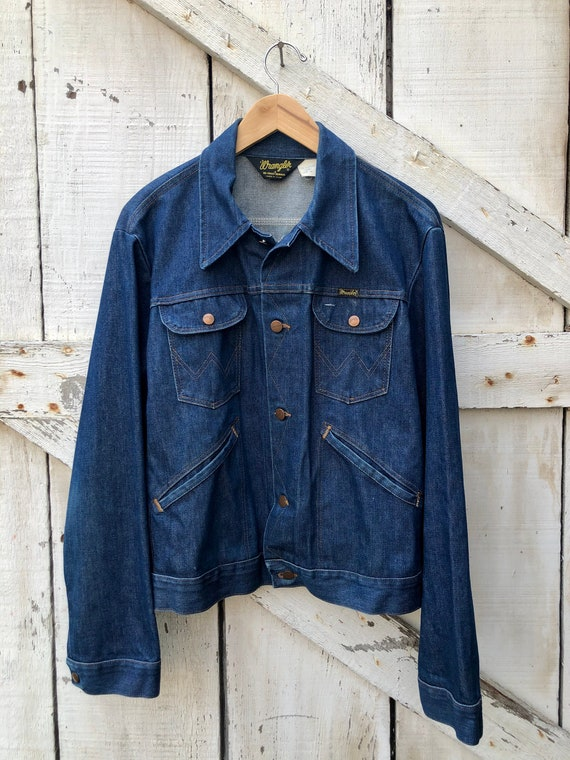 1970s Wrangler No Fault Denims Made In The USA Jea