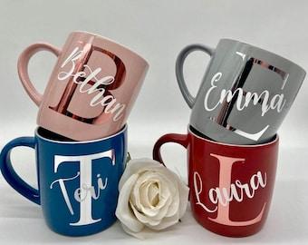Personalised Mug | Initial and Name Mug | Custom Name | Personalised Gift | Coffee Mug | Custom Mugs | Initial Mugs | Birthday | Wedding