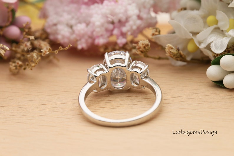Engagement Ring,Wedding ring,Promise ring,Oval Cut,3.5Carats,Customized ring