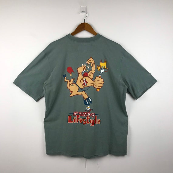 Vintage MAMBO Graphic T-Shirt #008
