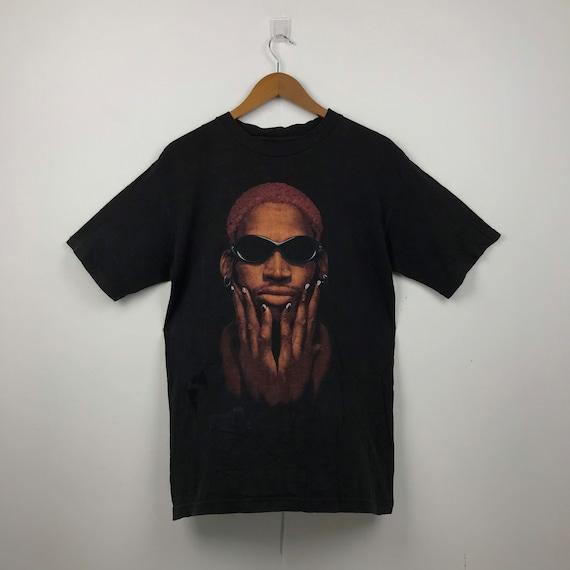 """DENNIS RODMAN """"Not Of This World"""" T-Shirt #038"""