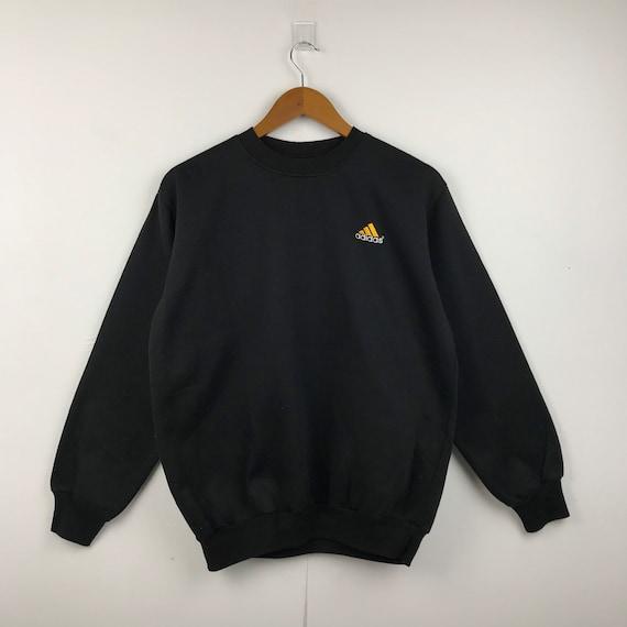 ADIDAS Embroidery Small Logo Crewneck Sweatshirt #