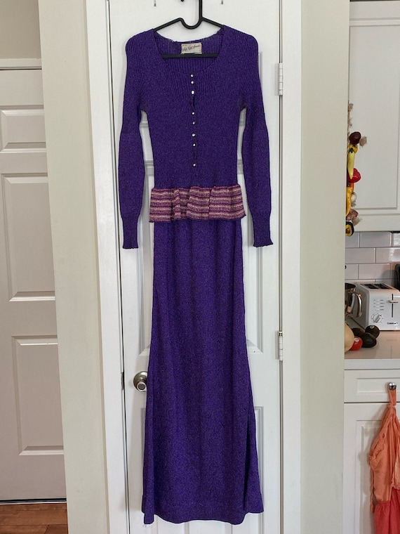Vintage Lurex Dress