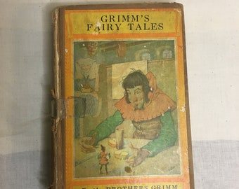 RARE Grimm's Fairy Tales By The Brothers Grimm Newberry Classics Series David Mc Kay Hardcover  1942?