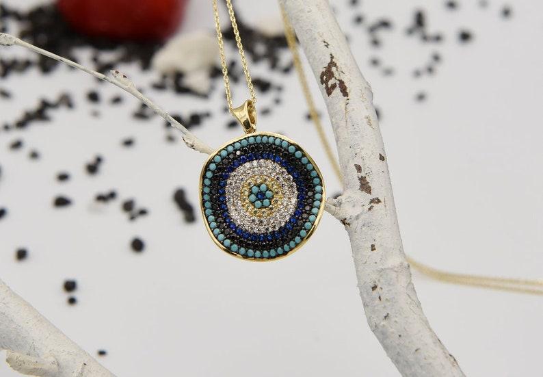 Dainty Evil Eye Gift For Wife Evil Eye Gold Gold Evil Eye Evil Eye Jewelry Evil Eye Necklace Evil Eye Jewelry For Women