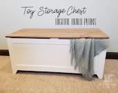 Toy Storage Chest Build Plans