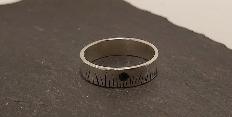 Meadow Grass Nature Ring Made in Scotland Sterling Silver Ring