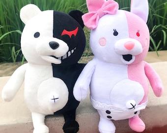 Dangan Ronpa Danganronpa Monokuma Anime Big Plushy Stuffed Toy