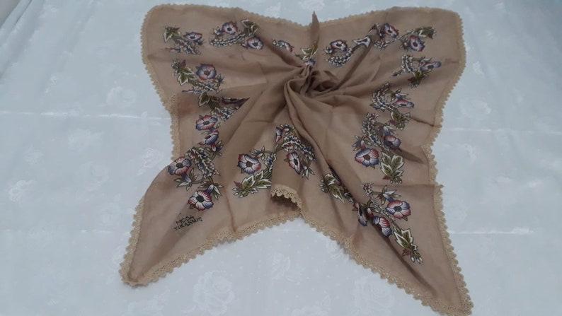 Vintage Oya Scarf Turkish Oya Scarf,Gift For Mothers,Handmade Scarf,Needle Lace Scarf,Women Fashion,Head Scarf,Hijab Scarf,Crochet Scarf