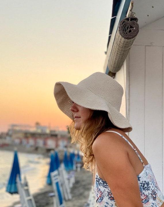 Bucket hats pattern crochet summer hats women pattern PDF