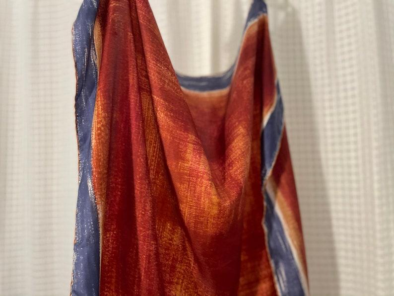Yellow /& Orange Set of Vintage Italian Scarves