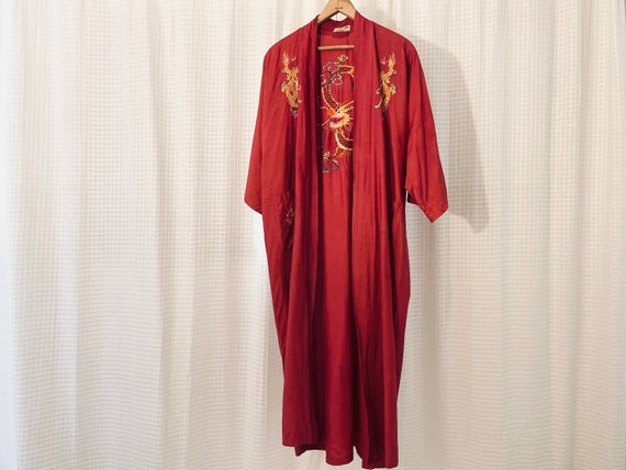 Silk Hand Embroidered Robe