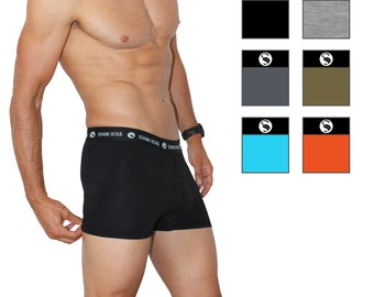 Stark Soul Boxershorts - Hipster 6-pack with waistband black/white
