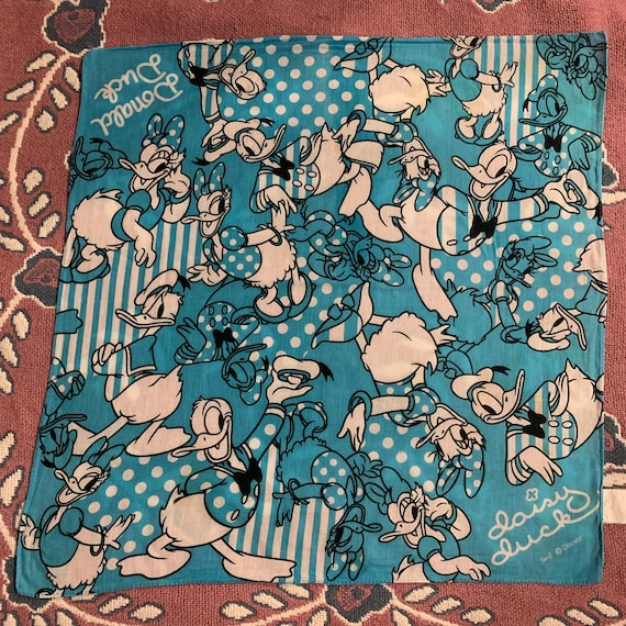 Vintage Donald duck Handkerchief