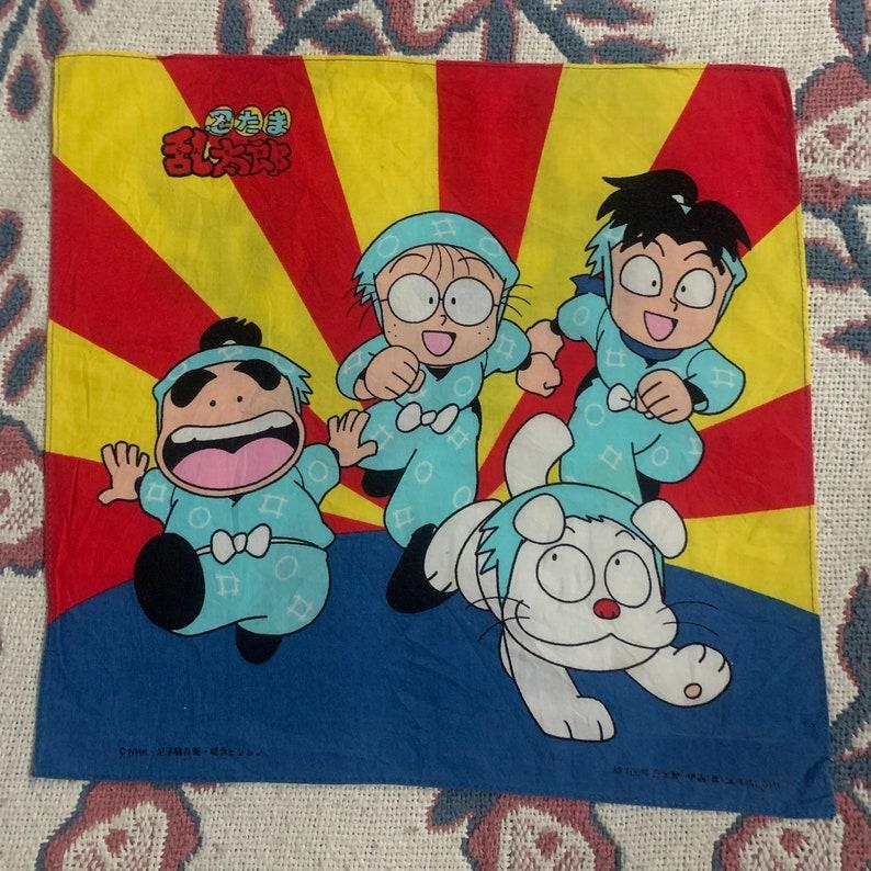 Vintage Ninja Rantaro Handkerchief