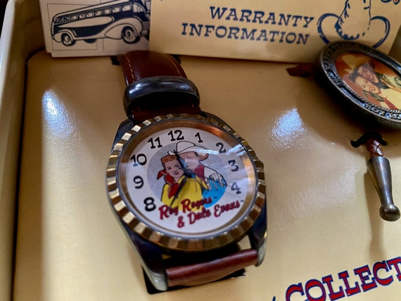 Roy Rogers and Dale Evans vintage Fossil Watch