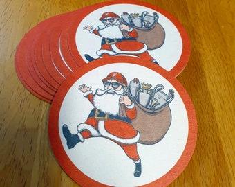Christmas Klopp Beermat LFC (Pack of 10)