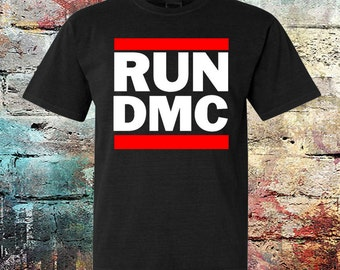 Run DMC Trunk LTD Fedoras Band Image Ivory Kids Youth T Shirt New Official