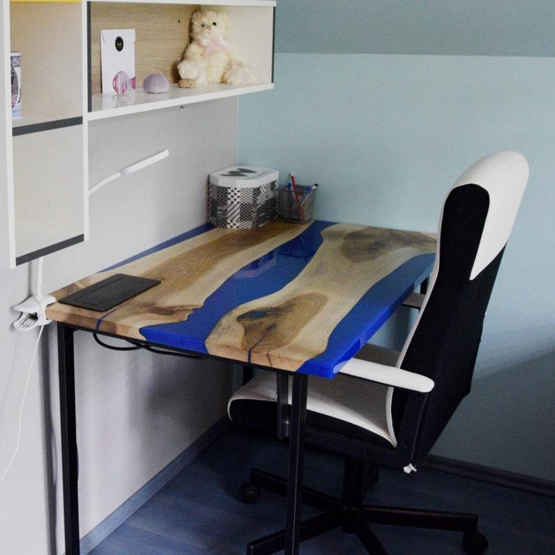 Epoxy gaming desk epoxy desk for gamers