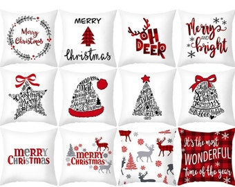 Christmas pillow case in 2020