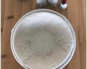 Round Oval Rattan banneton proving basket with linen cloth SALE SALE SALE