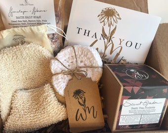 Luxury Bath Set |Gift Set/Corporate Gifts/Thinking of you/Bridesmaids Gifts /Gifts for Everyone/Wellness Gift