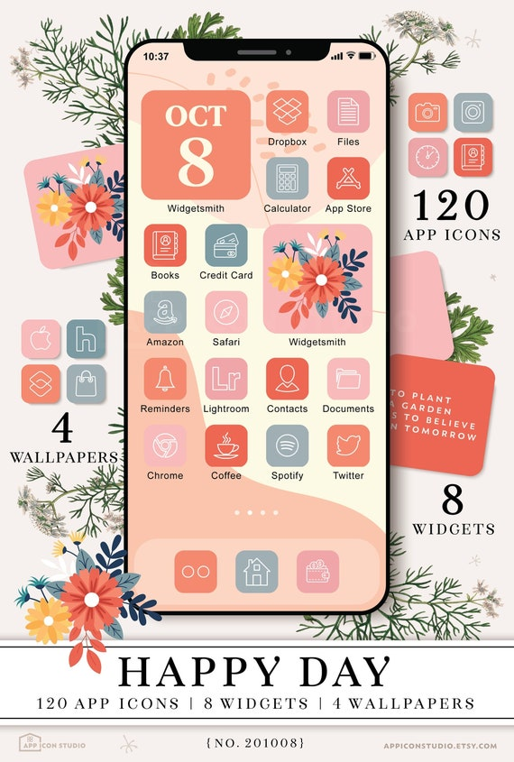 Red Aesthetic App Icons Ios 14 Icons Red Ios 14 Icon Covers Etsy