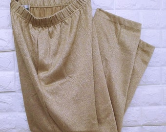 Gregory Designs Gold Pull-up Pants