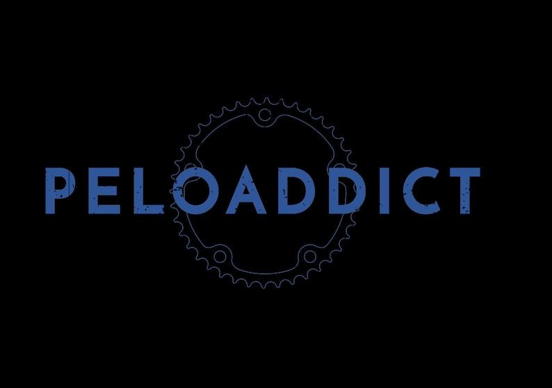Peloaddict Funny Vintage Custom Cycling Workout Addict Introvert Peloton Meme Women/'s Racerback Tank