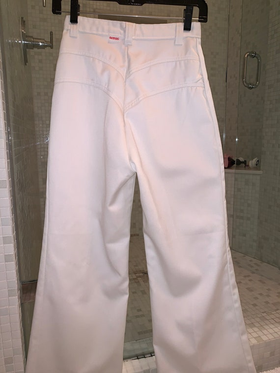 Deadstock 1970s Dittos wide leg jeans in perfect … - image 4