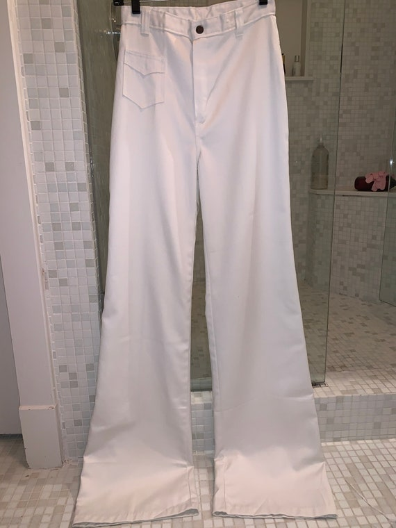 Deadstock 1970s Dittos wide leg jeans in perfect … - image 2