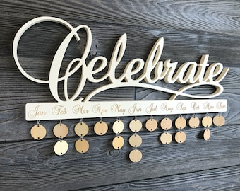Celebrate Calendar (Heirloom White)