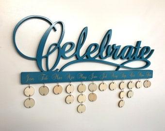 Celebrate Calendar (Lagoon Teal)