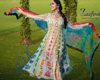 Women Pakistani Salwar Kameez Cotton Kurti Palazzo Handblock Print Casual Dress Multi Color Kurti By Heritage Hub