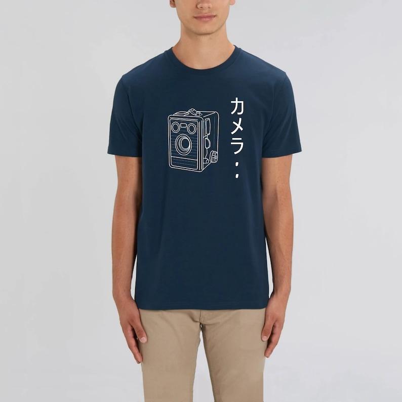Camera  Unisex T-shirt  Camera  Japanese Marine