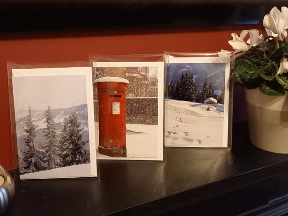 Postbox in the Snow Card