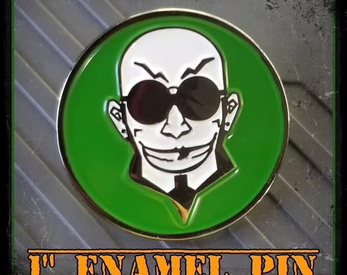 "1"" Enamel Pin"