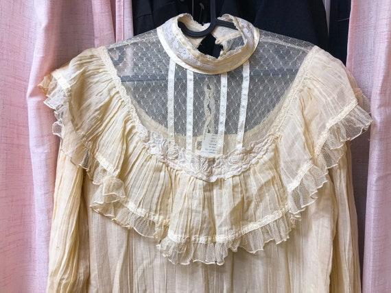 Vintage Gunne Sax dress / Victorian style wedding