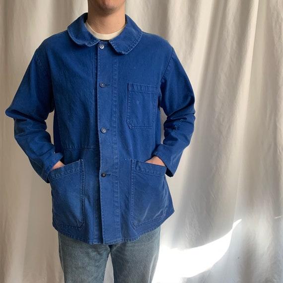 Vintage Chore Coat / French chore jacket / 60's ja