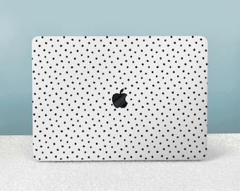 Polka Dot MacBook Case MacBook Pro 13 Case Blue MacBook Air 13 Case 12 Inch Watercolor 16 Inch 11 Inch 13 Inch Clear Mac 15 Inch