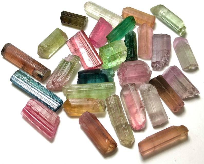 Tourmaline crystals